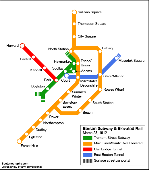 Happy birthday, Red Line | Bostonography