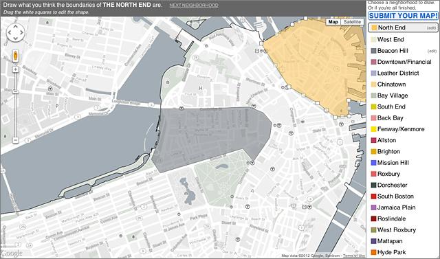 Wanted your map of Boston neighborhoods Bostonography