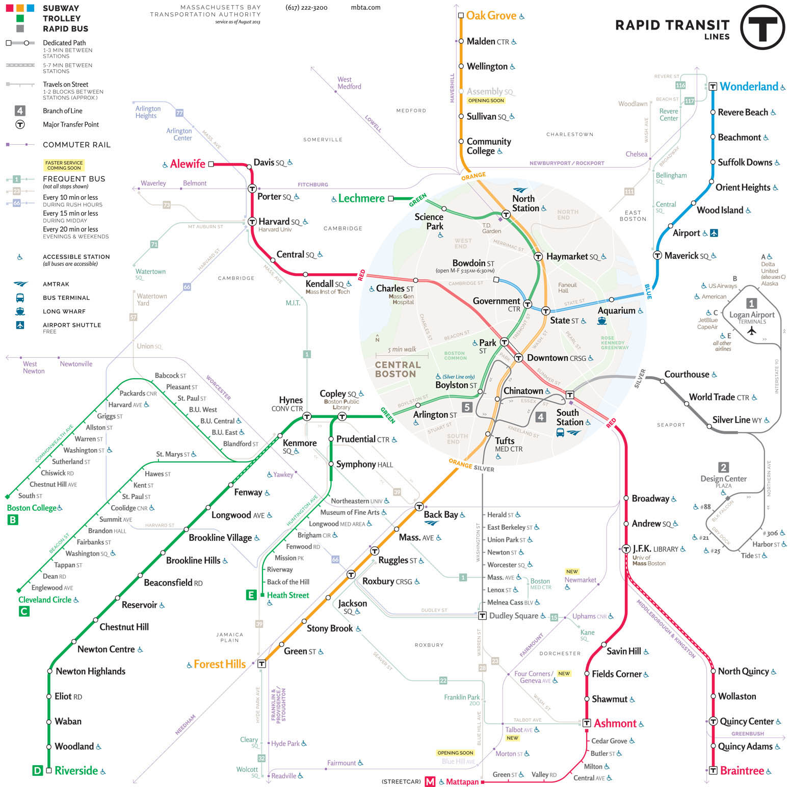 Alewife Subway Map.Mbta Map Redesigns Bostonography