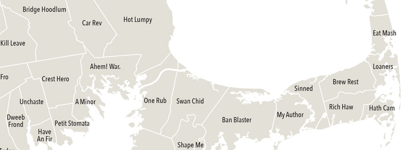 South Shore and Cape anagrams